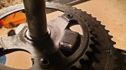 Guarnitura Shimano Ultegra, 36/52 con Giant PowerPro power meter
