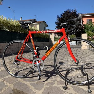 Cannondale CAAD 5, replica Team Saeco, 2001/2002, foto 1.