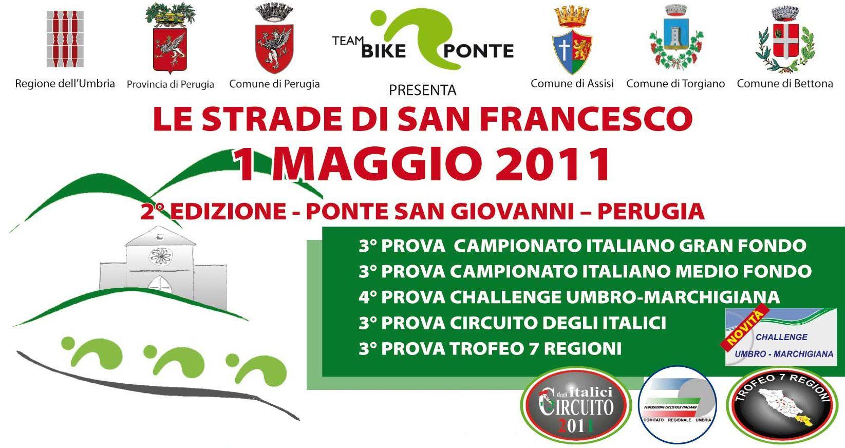 Gf Le Strade di San Francesco: appuntamento al 1 maggio