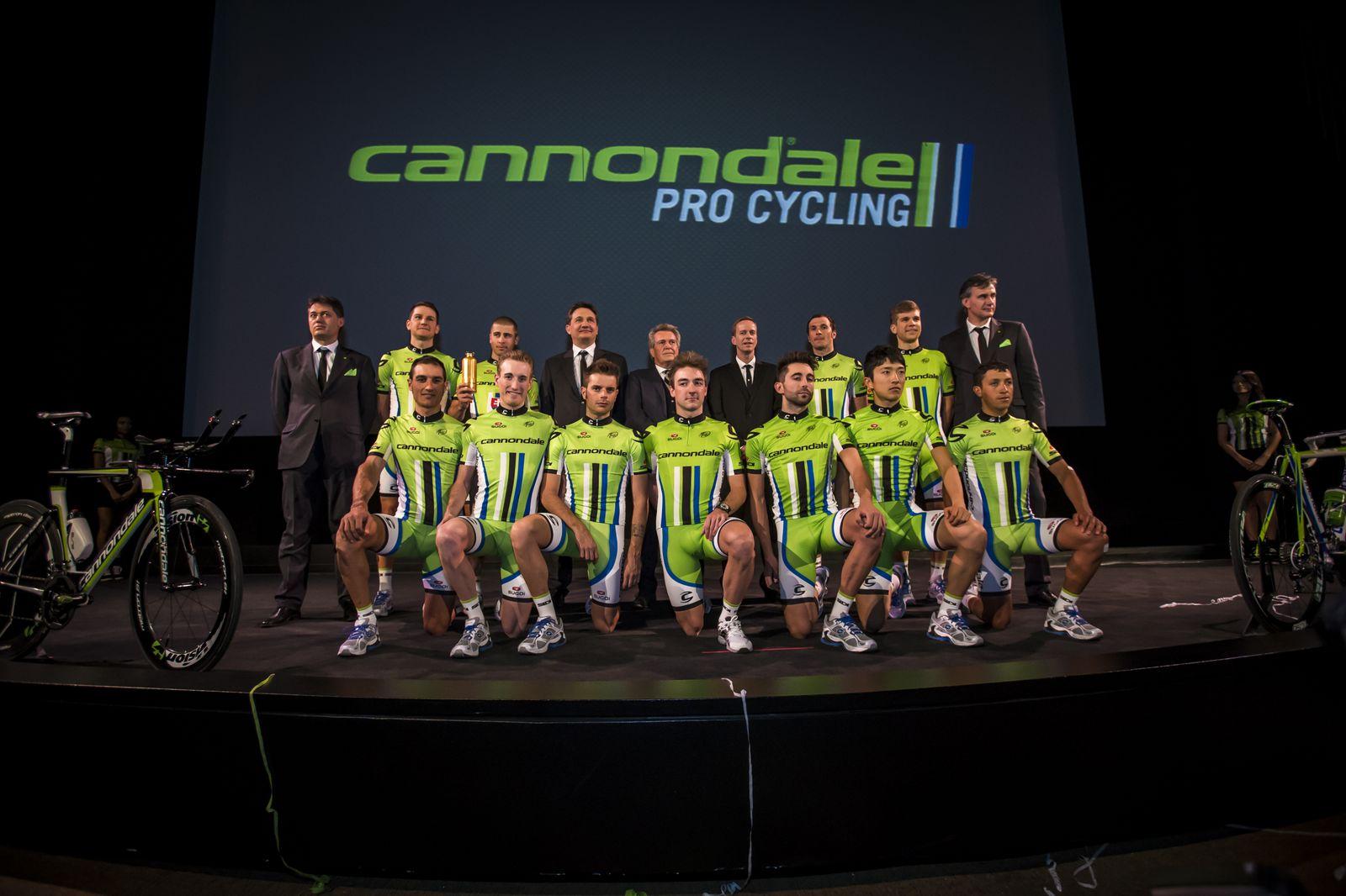 Presentazione Cannondale Team 2013