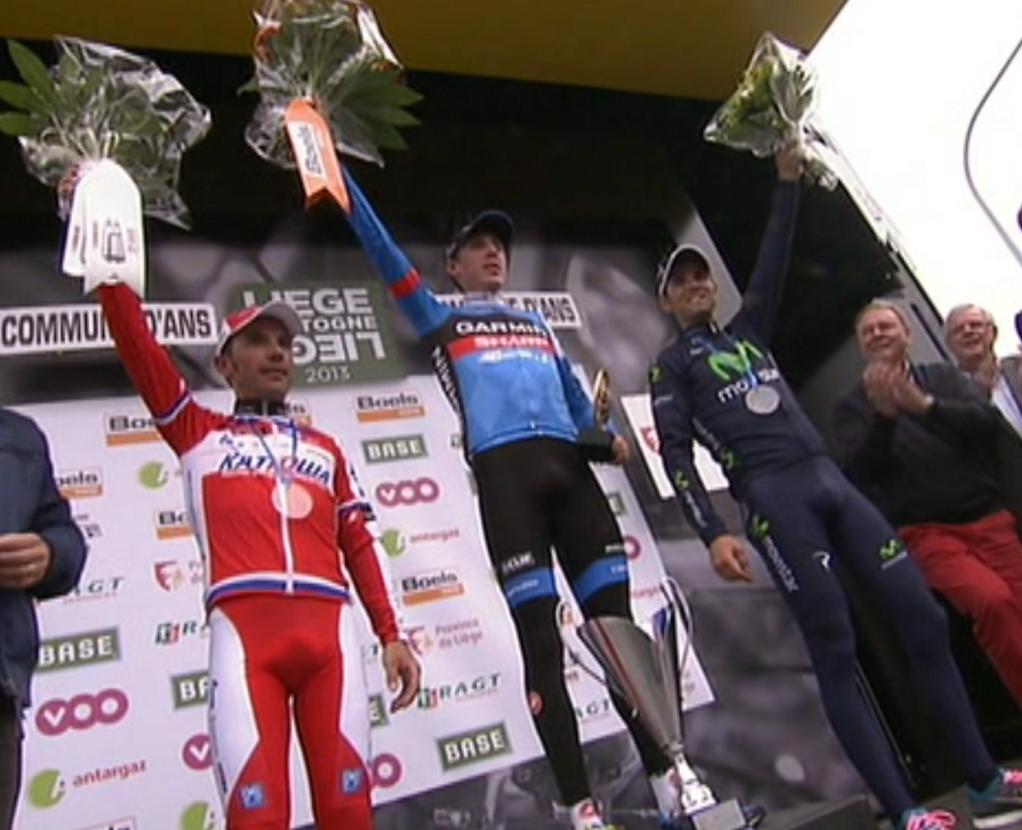 Anche alla Liegi è vittoria di un outsider: Daniel Martin