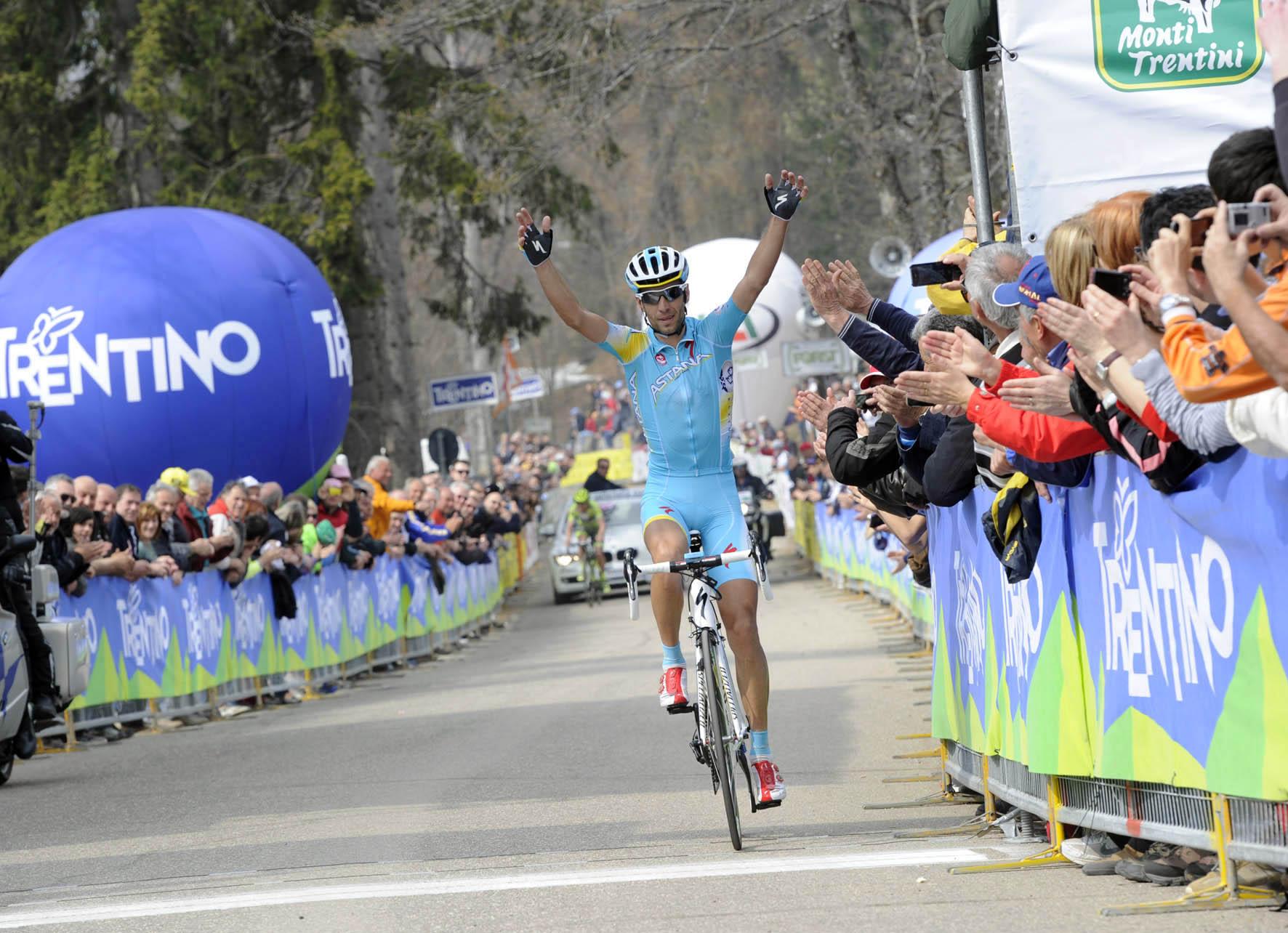 Giro del Trentino. Il sigillo di Nibali