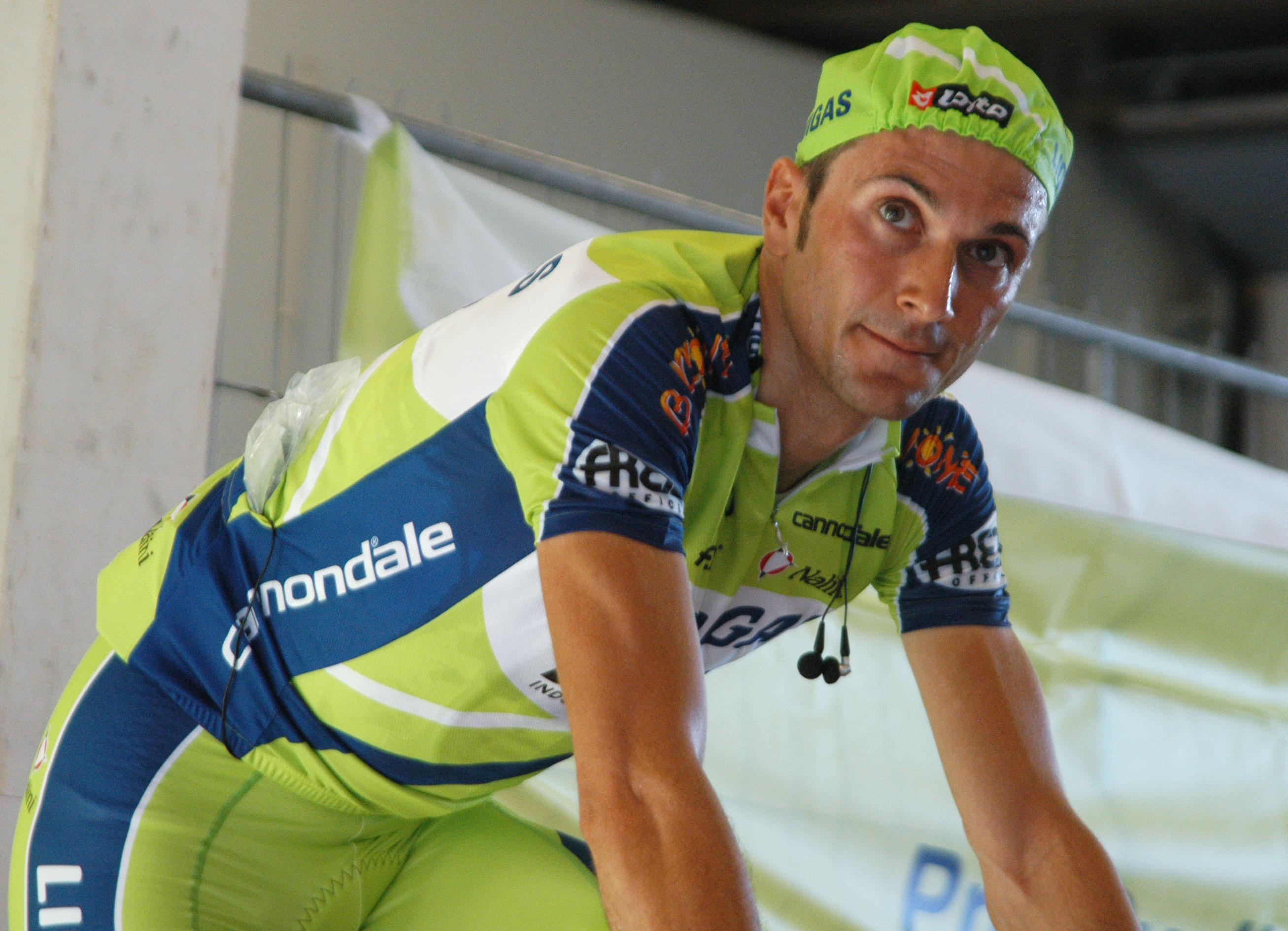 Ivan Basso non sarà al Giro d'Italia