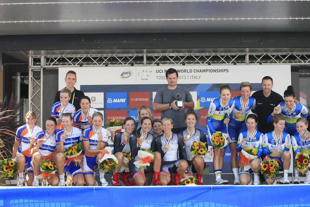 Mondiali Firenze 2013: TTT femminile