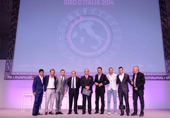 Presentazione 97o Giro d'Italia 2014