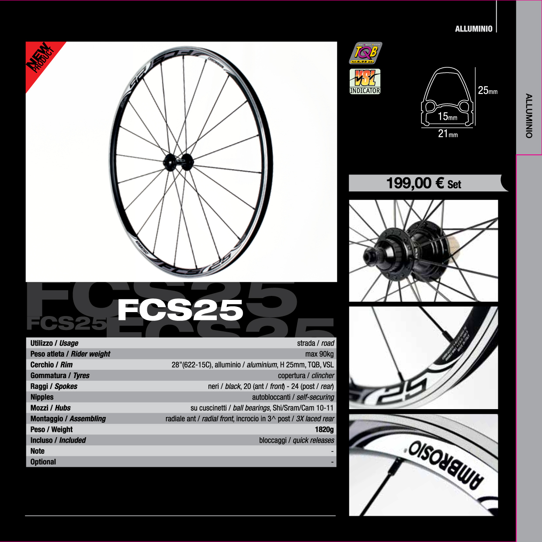 Ambrosio FCS 25