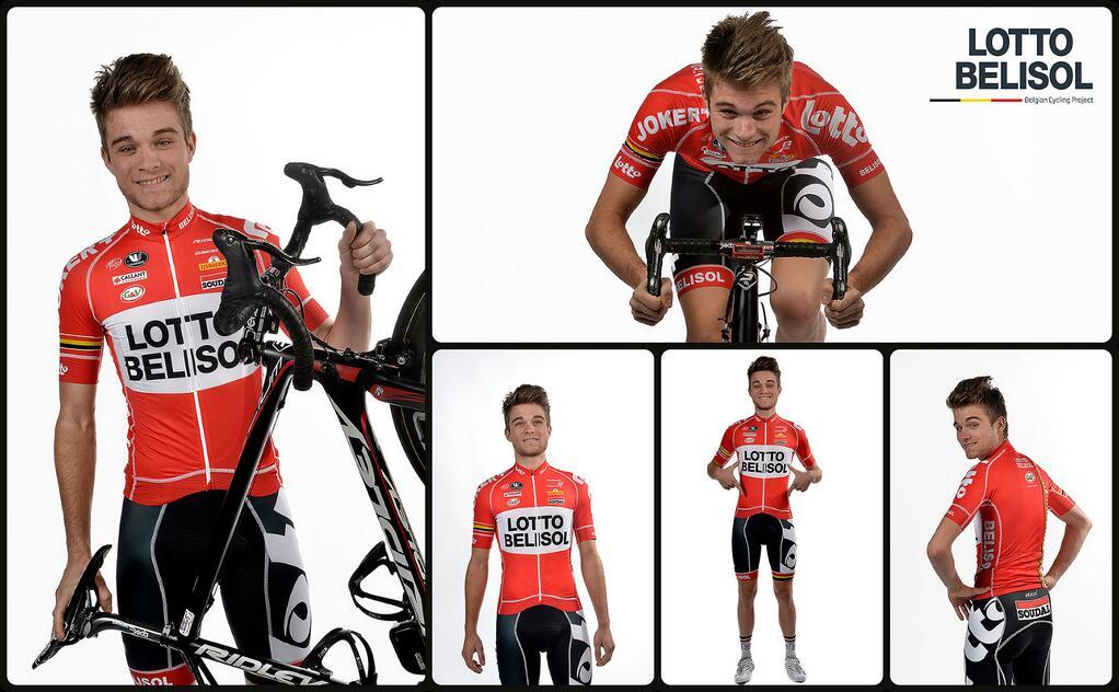 La nuova maglia della Lotto-Belisol 2014