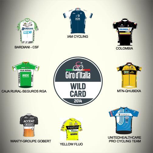 Giro d'Italia 2014 wildcard: chi scegliere?