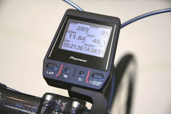 Pioneer-Cyclocomputer-power-meter-data