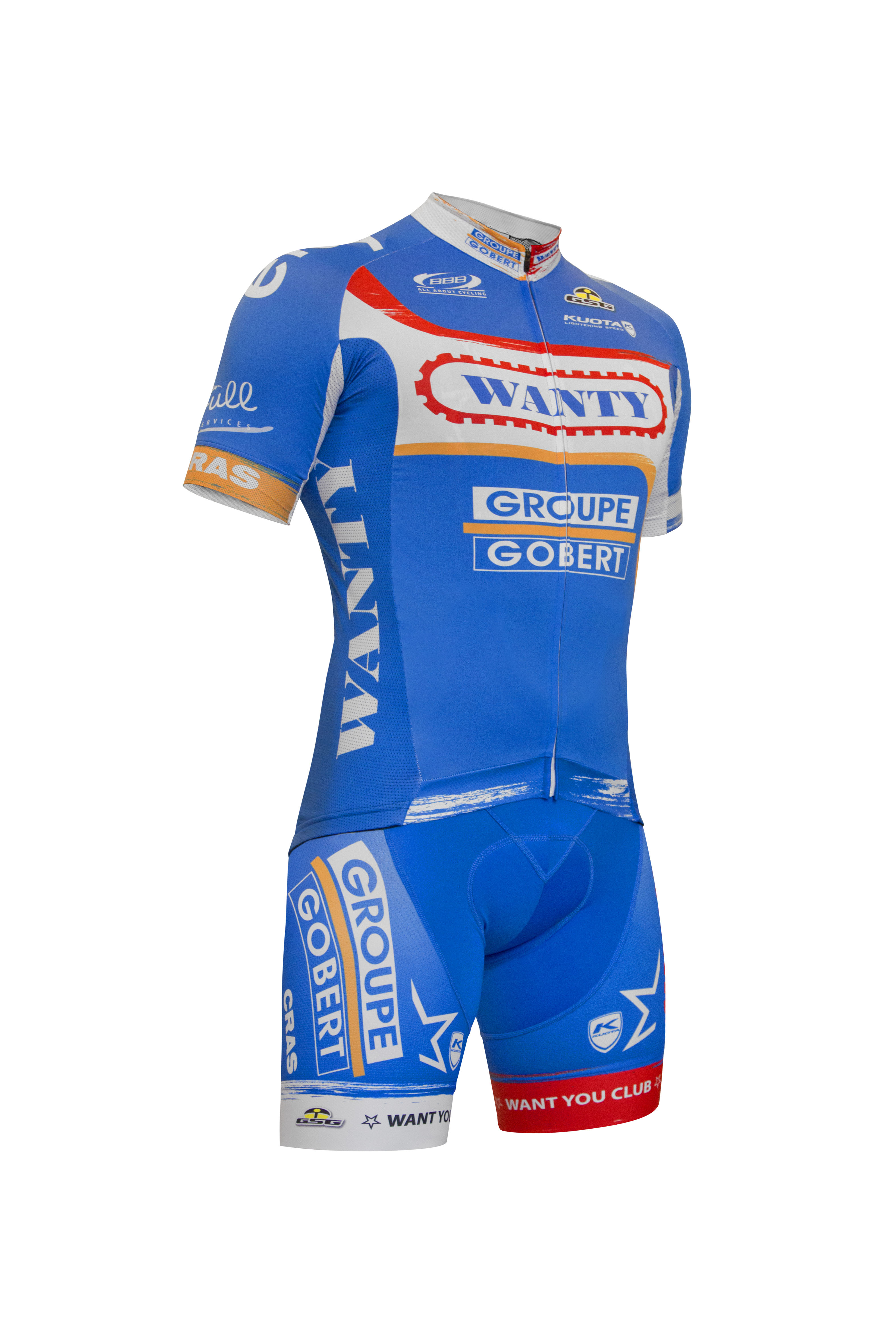 GSG sponsor Wanty-Groupe Gobert team