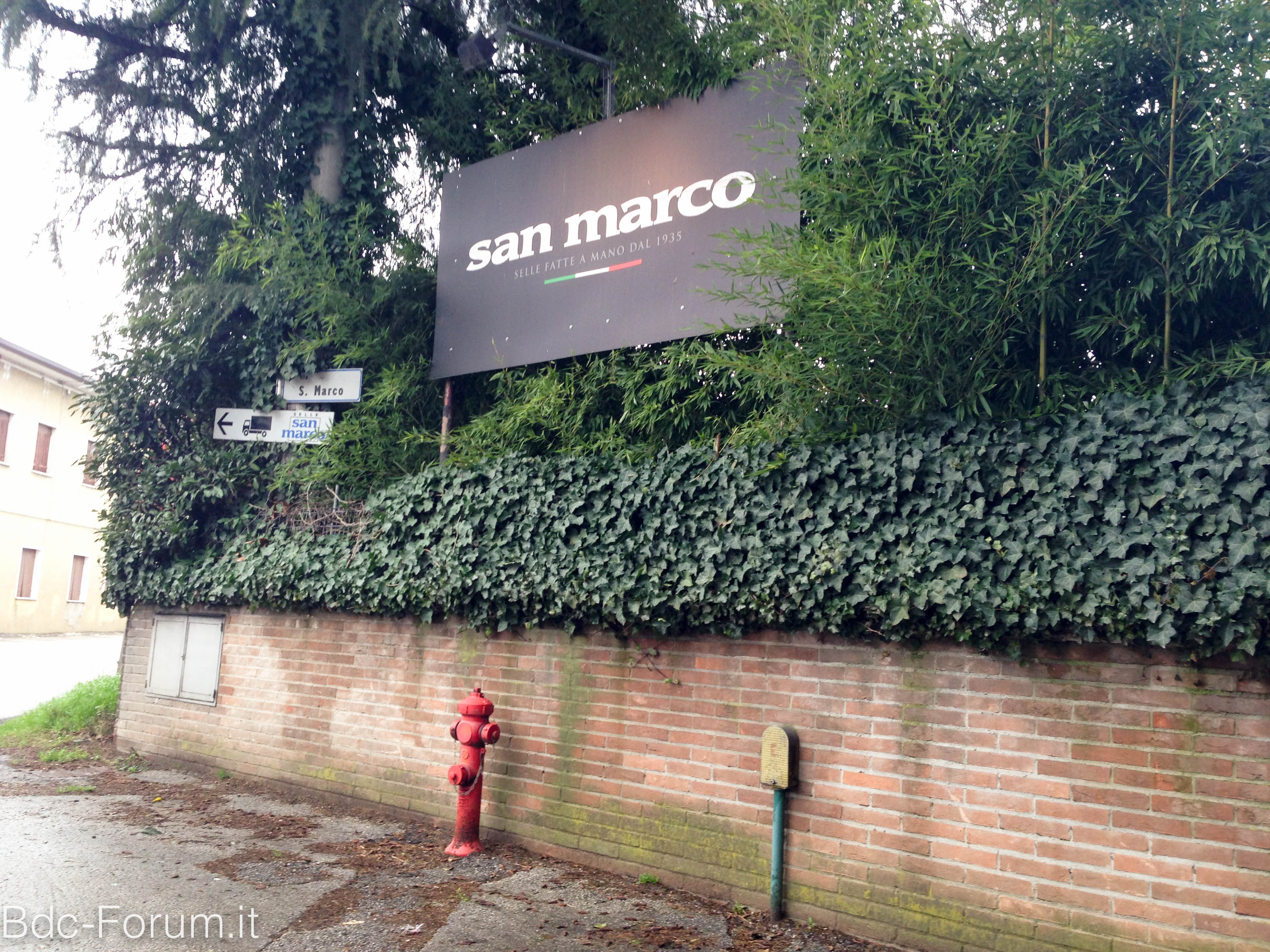 Visita a selle San Marco