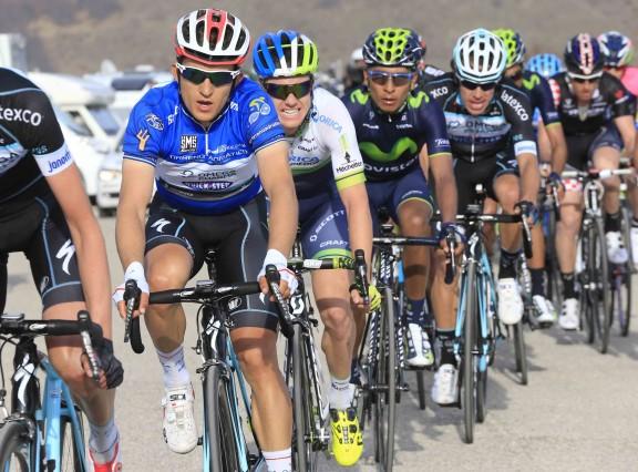 Gara Ciclistica Tirreno Adriatico - Quarta Tappa - Indicatore-Cittareale . conferenza stampa
