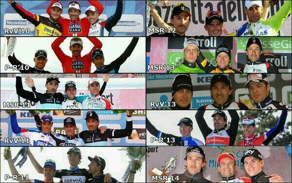 10° podio consecutivo per Cancellara