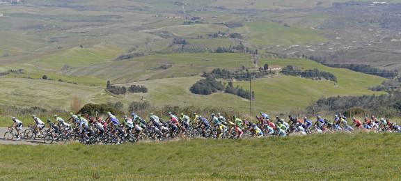 Gara Ciclistica Tirreno Adriatico - Seconda Tappa.