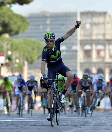 Valverde fa sua Roma Maxima