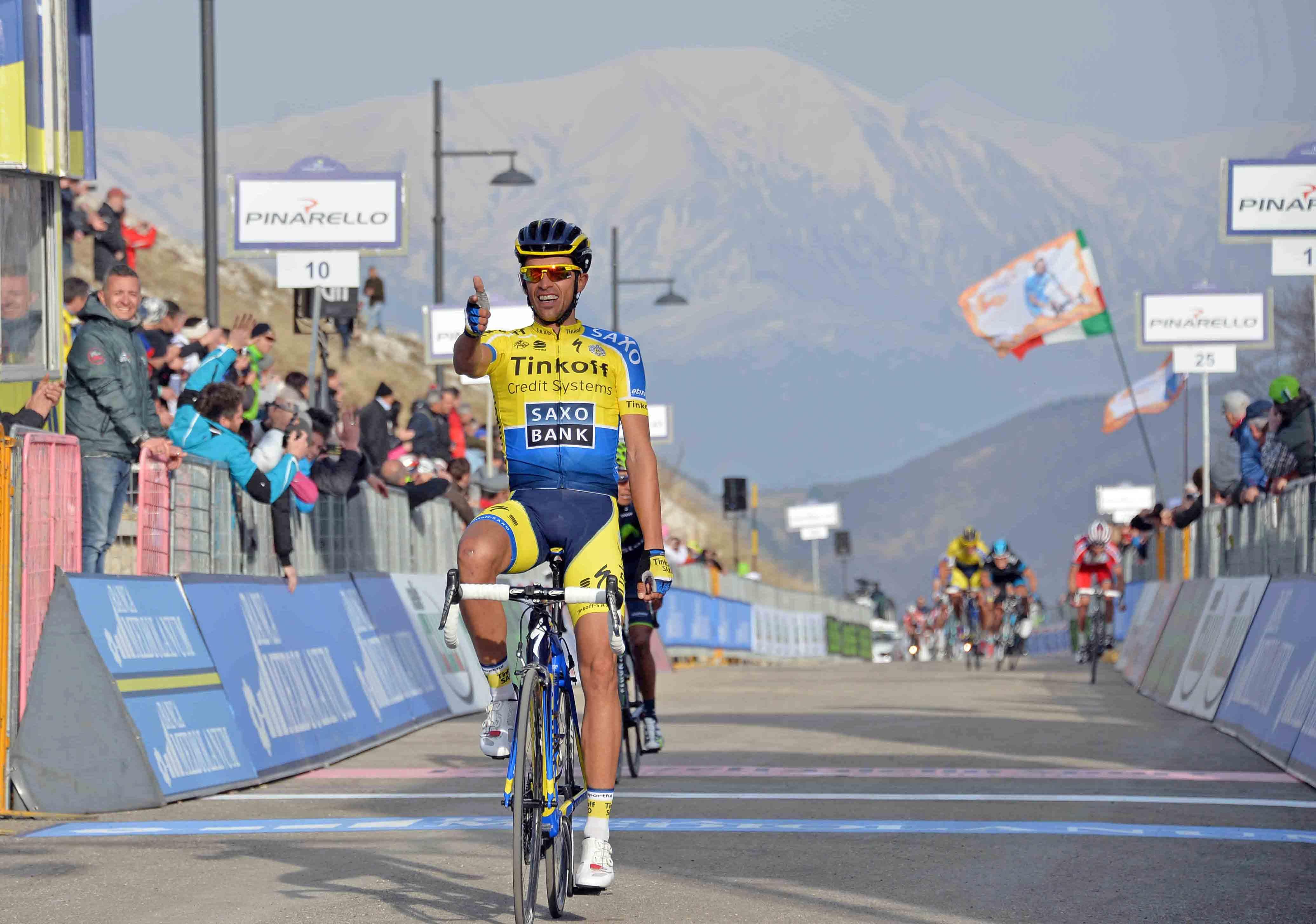 Tirreno-Adriatico 2014: Contador batte Quintana