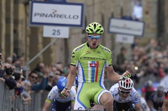 Gara Ciclistica Tirreno Adriatico - Terza Tappa - Cascina-Arezzo.
