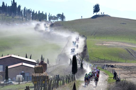 Gara ciclistica ''Strade bianche''