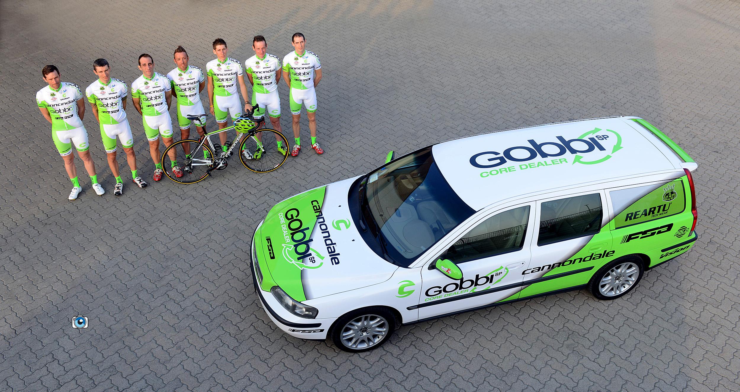 Presentato il Team Cannondale Gobbi FSA