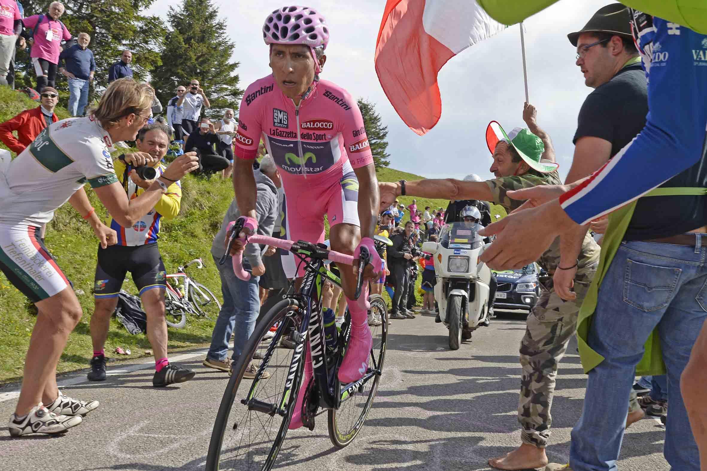 Giro 2014: Quintana ipoteca la maglia rosa sul Grappa