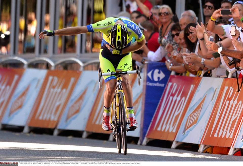 TdF 2014. 16^ tappa: Rogers si impone sui Pirenei