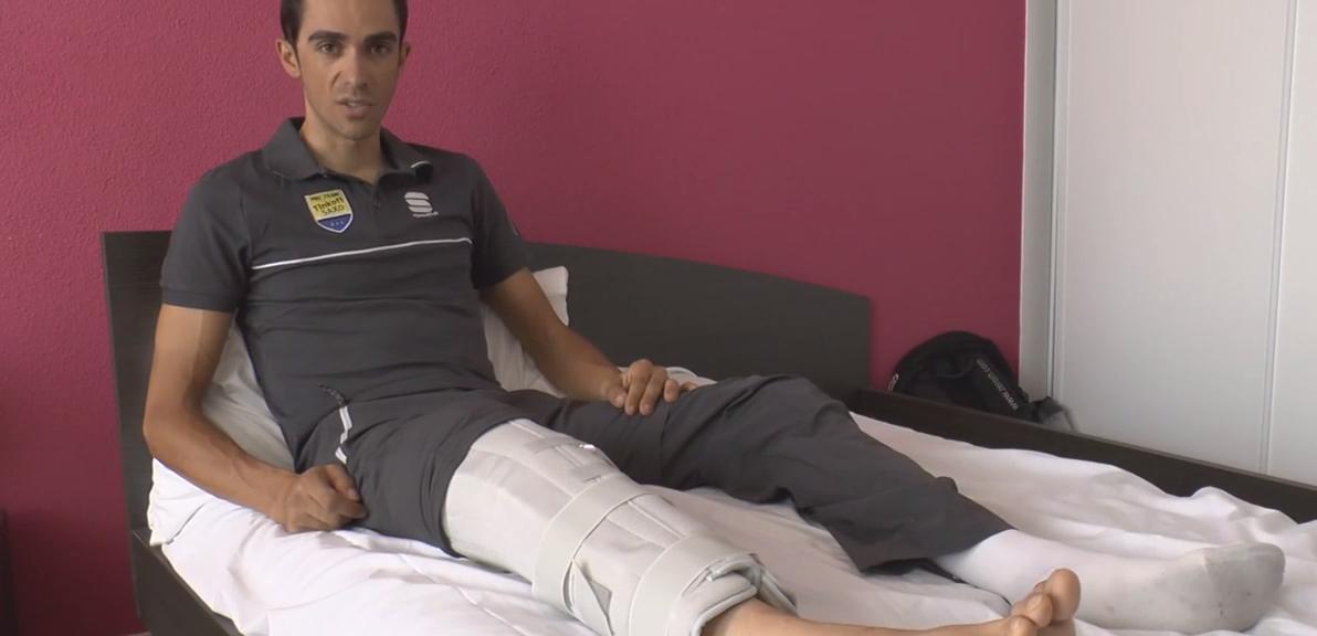 Alberto Contador salterà la Vuelta