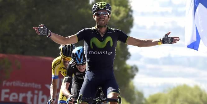 Vuelta 2014. 6^ tappa: Numero di Valverde
