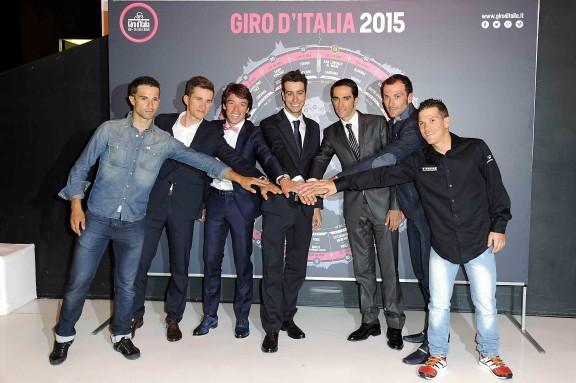 Presentazione del Giro d'Italia 2015