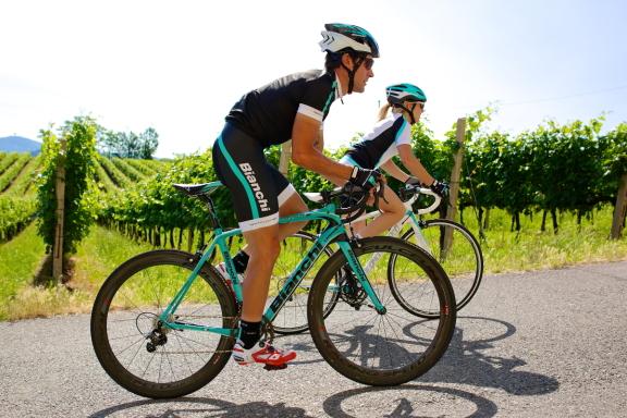 Riding_Bianchi_bikes