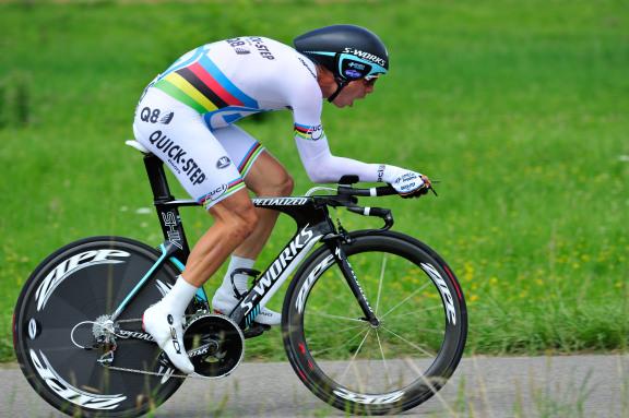 CYCLISME : Tour de France 2012 - Arc et Senans / Besancon - Contre la montre - Stage 09 - 09/07/2012