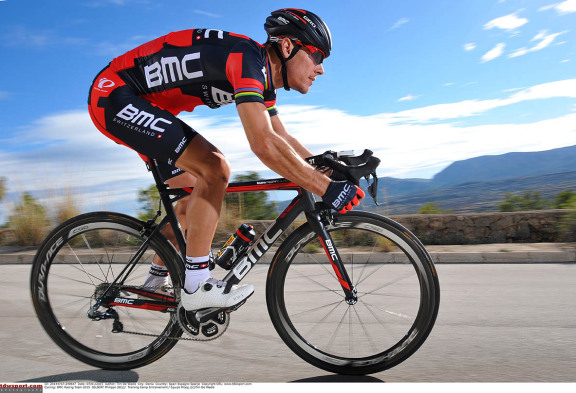 Cycling: BMC Racing Team 2015  GILBERT Philippe (BEL)/  Training Camp Entrainement / Equipe Ploeg /(c)Tim De Waele