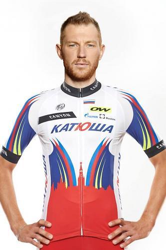 Team Katusha Dmitriy Kozonchuk