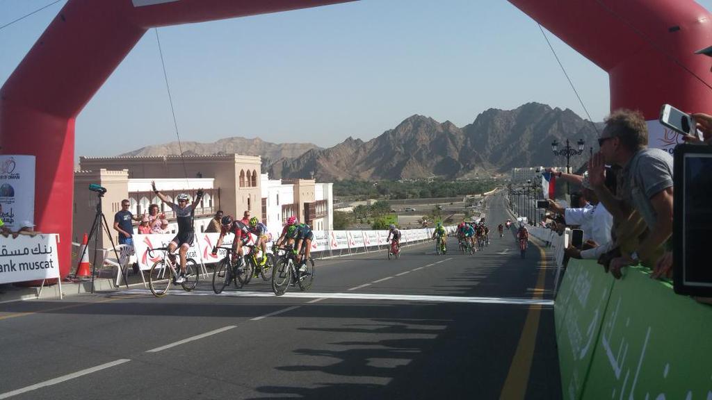Tour Oman 2015: 2^ tappa a Cancellara