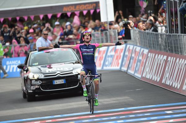 Giro 2015: Jan Polanc vince in la Quinta tappa
