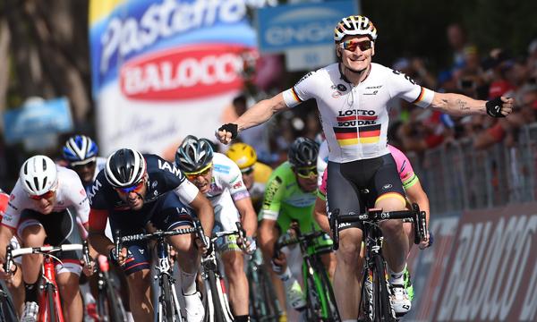 Giro 2015: André Greipel vince la Sesta tappa