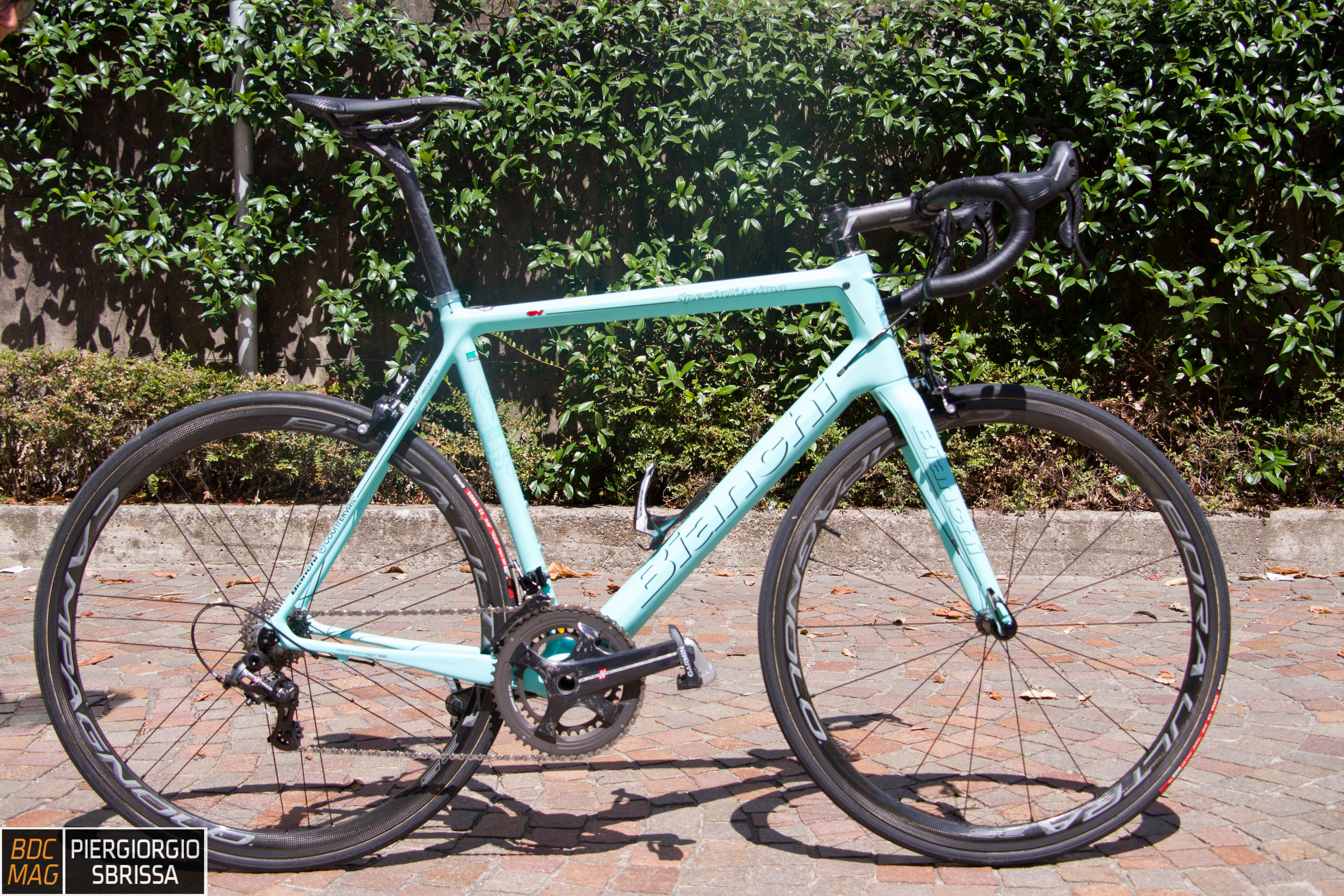 Test Bianchi Specialissima Cv Bdc Magcom Bici Da Corsa