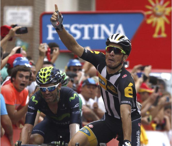 Vuelta 2015: Lo sprint vincente di Sbaragli