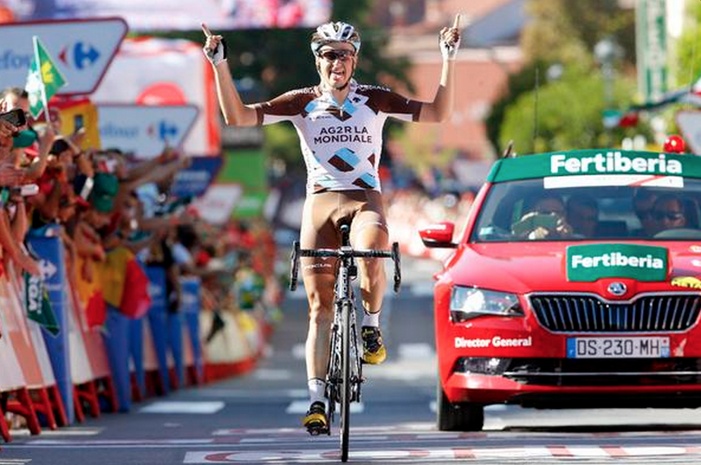 Vuelta 2015: Tappa a Gougeard