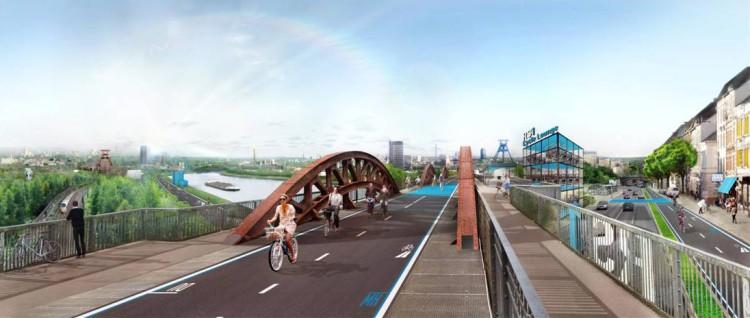 Aperta la prima tratta della RS1, autostrada per le bici
