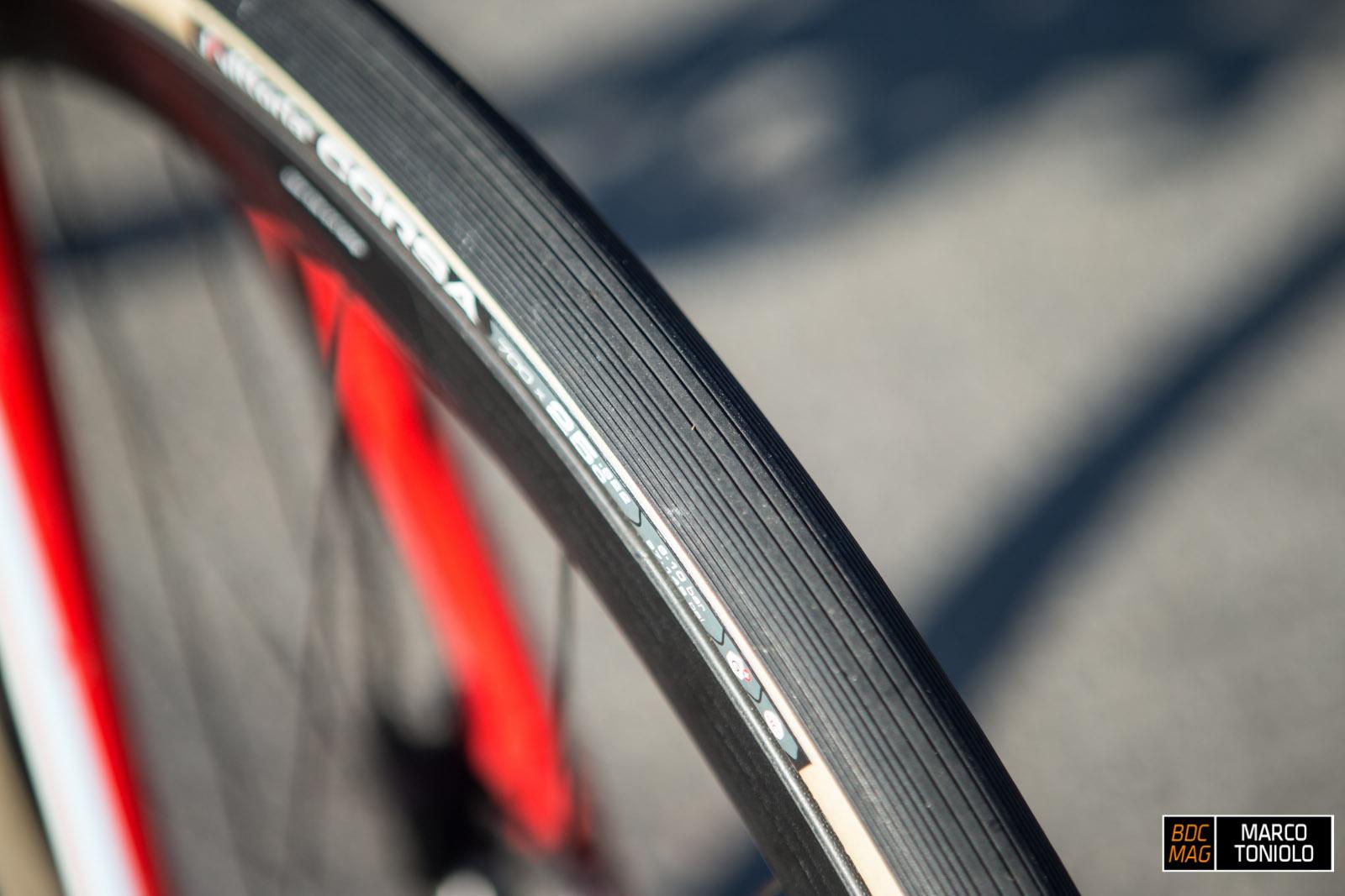 6967449f09d2 Test  Copertoni Vittoria Graphene Corsa 25mm