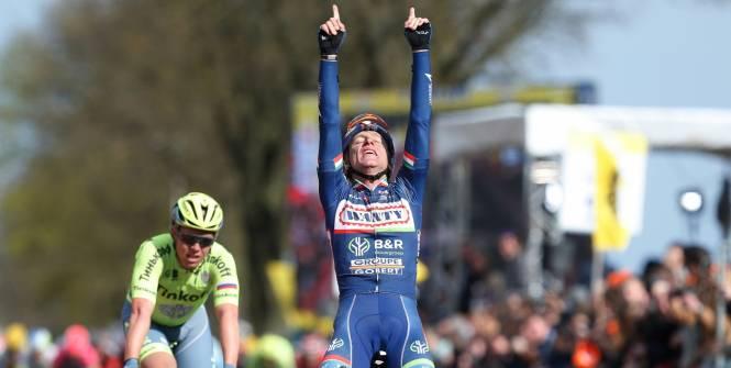 Gasparotto trionfa all'Amstel Gold Race