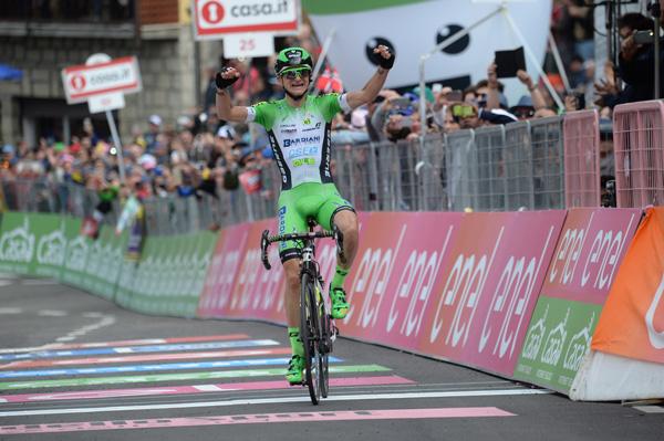 Giulio Ciccone vince la Decima Tappa del Giro d'Italia, Bob Jungels in Maglia Rosa