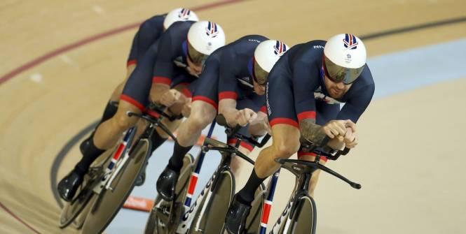 Inseguimento a squadre d'oro per la Gran Bretagna