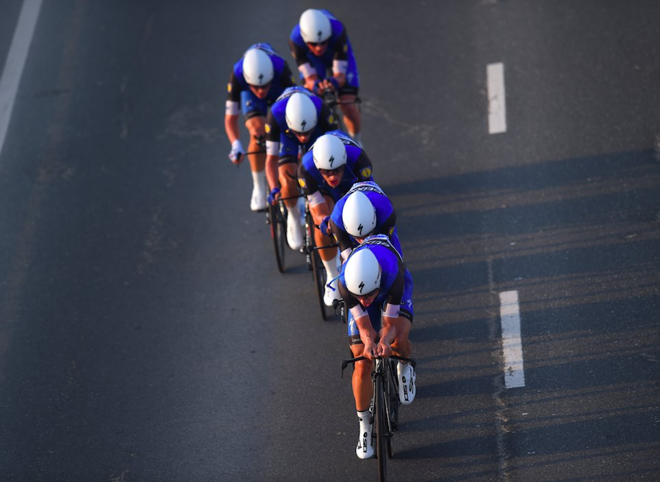 La Etixx-Quick Step è campione del mondo a cronometro