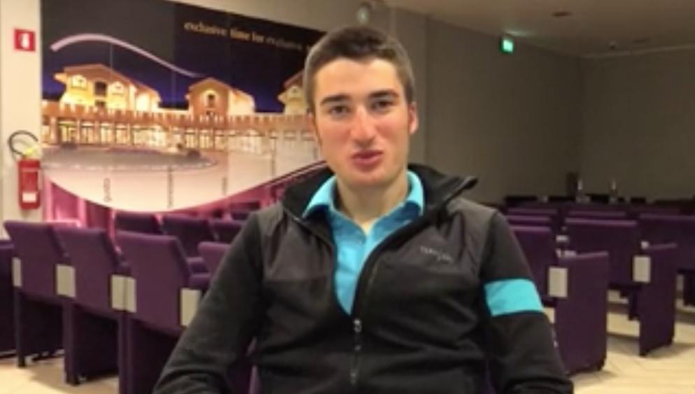 Intervista a Gianni Moscon, il giovane della Sky