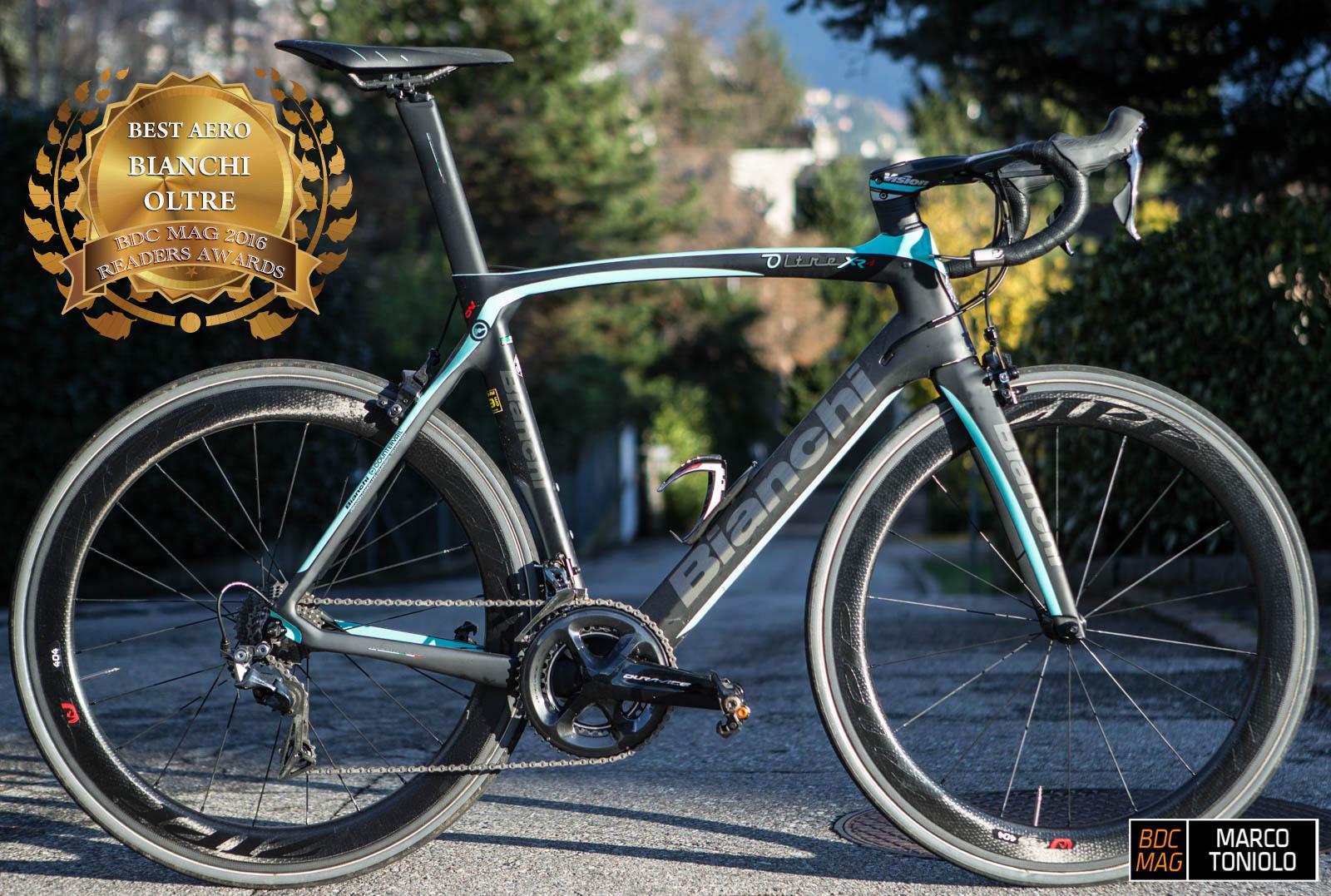 BDC-MAG Awards 2016: La Bianchi Oltre XR4 vince la categoria bici Aero