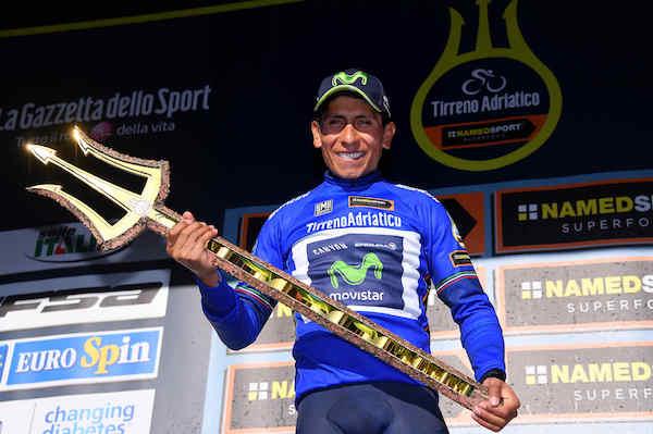 """La Tirreno-Adriatico """"parla"""" ancora colombiano"""