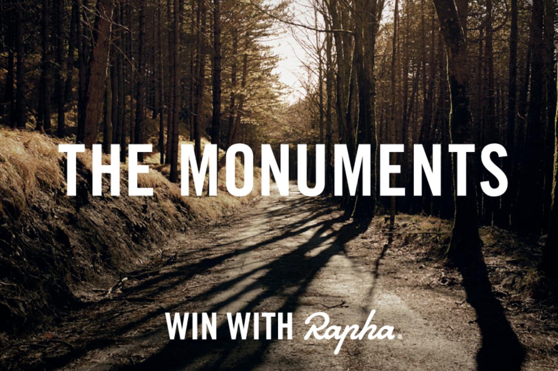 Rapha's Monuments competition ritorna nella stagione 2017