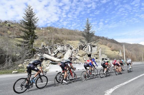 Gara Ciclistica Tirreno Adriatico 2017 - Quinta tappa - Rieti - Fermo km 210.