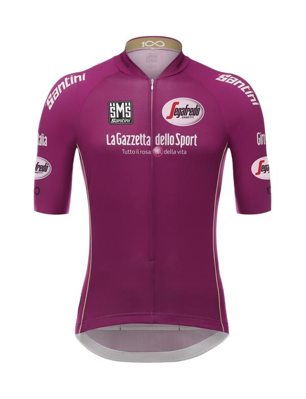 Giro 100: torna la storica maglia ciclamino